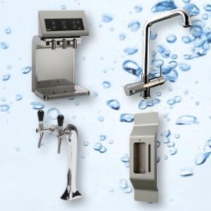 Individuelle Lösungen zur Trinkwasserversorgung - Trinkbrunnen, Wandhalterung, Zapfhähne