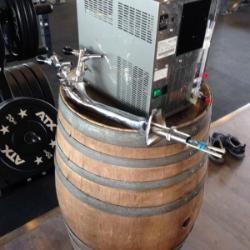 Trink Oase News Sondereinbau Tafelwasseranlage Fitnessstudio CrossStyle-Camp Straubing