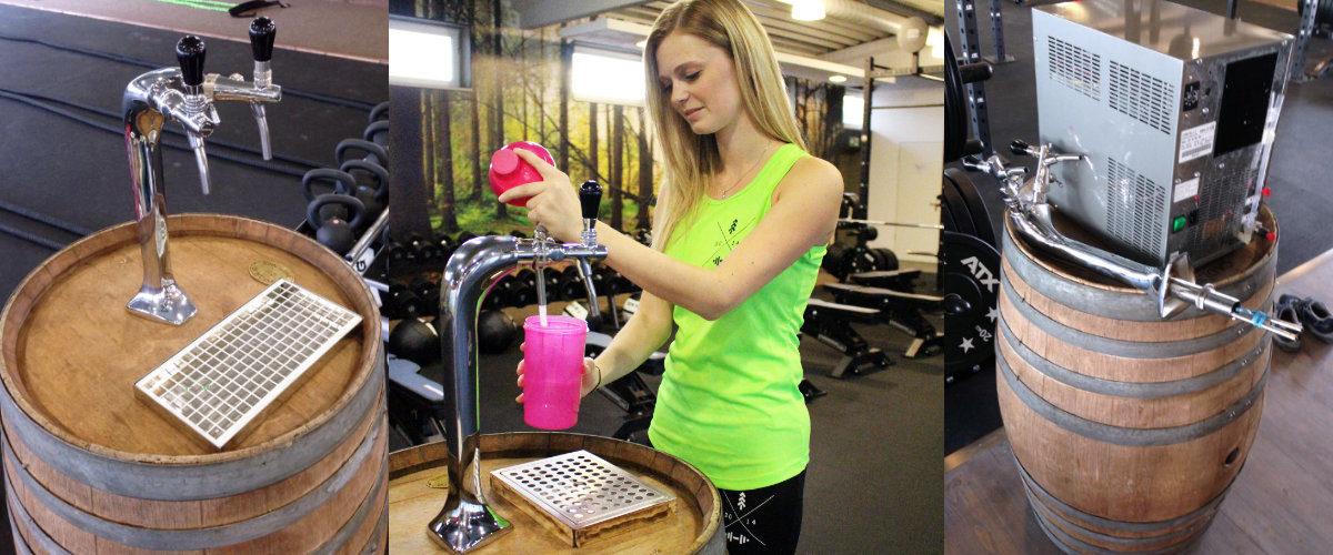 Trink Oase News Sondereinbau Fitnessstudio Wasser