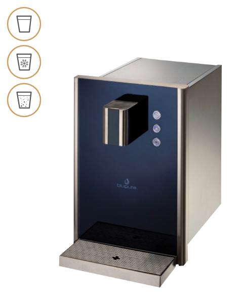 Trink Oase Tafelwasseranlage Bluglas 30