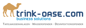 Trink Oase - Business Solutions | Wasserspender - Tafelwasseranlagen - Desinfektionsspender